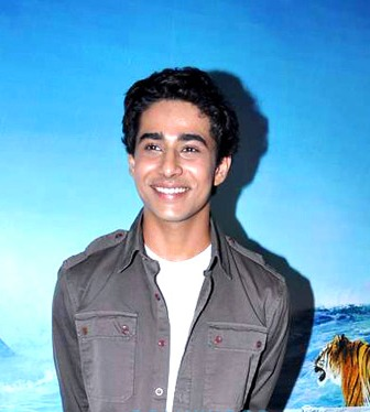 "Suraj Sharma during a promotion for ""Life of Pi""  in 2012."