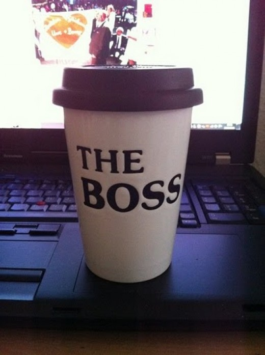 When you work for yourself, you are the boss - and the janitor!