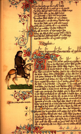 a literary analysis of the millers tale by geoffrey chaucer Free essays literary analysis the millers tale   and deception, in a comic manner this is the second tale by geoffrey chaucer in the canterbury tales.
