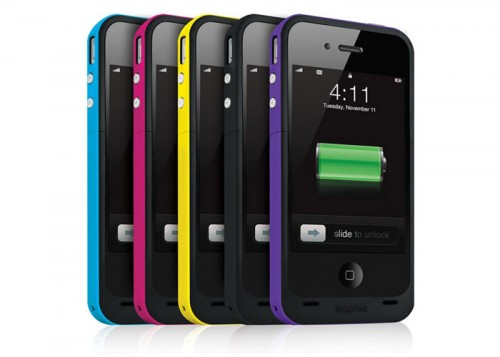 The Mophie juice pack plus comes in many colors to choose from.