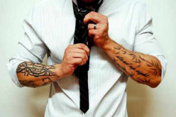 What do you think about tattooed people in the workplace?