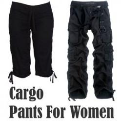 Cargo Pants For Women 2016