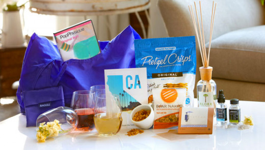 An example of a POPSUGAR box.