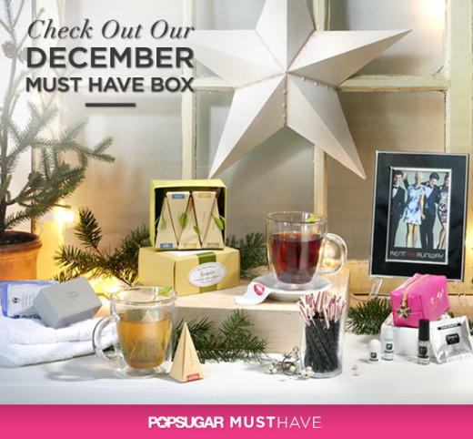 The December 2012 POPSUGAR box.