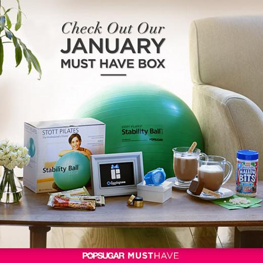 January 2013 POPSUGAR box.