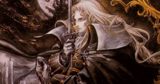 Alucard (I actually have a wall scroll of this Image)