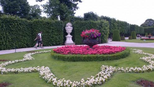 Garden of the Schönbrunn Palace - Vienna, Austria