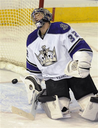 A painful and all-too-familiar sight for Kings Fans in the early stages of 2013