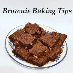 Brownie Baking Tips and Tricks for Less Mess and Fat