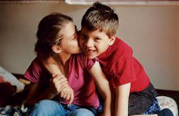 Many middle children in large& very large families act as bridges & advisors to their siblings. They are, in fact, the go to person among their siblings.