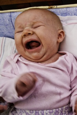 Screaming babies are stressful...choose a family-friendly location for vacation to make your trip more fun for the whole family.