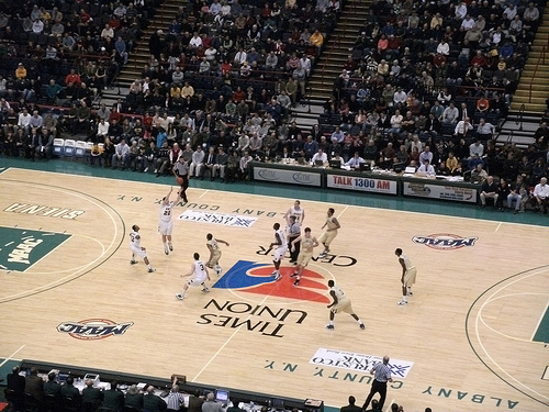 The ball is tipped . . . .