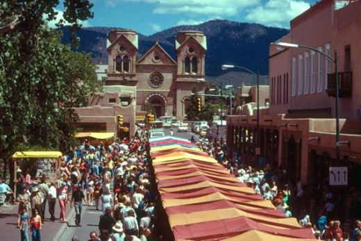 Santa Fe's Town Centre. Lovely!