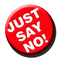 Saying no is not an easy thing to do