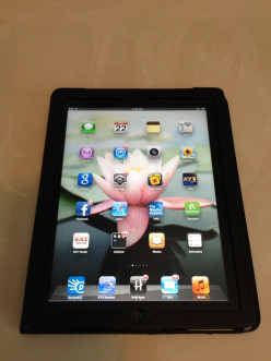 I love my iPad 2.  It goes everywhere!