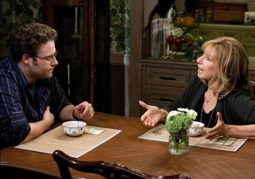 Seth Rogan and Barbra Steisand star in the Guilt Trip, the story of a mother and her son on a cross country journey.