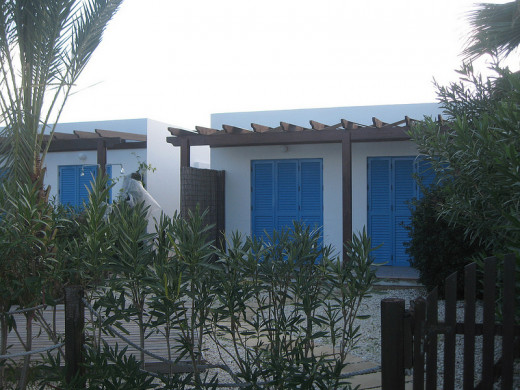 Latchi beach front bungalows
