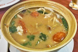 Tom Yum Goong, a local favorite from Central Thailand.