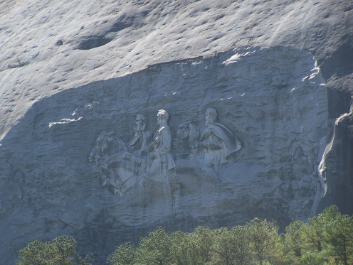 Stone Mountain, Georgia - a great place to study American History