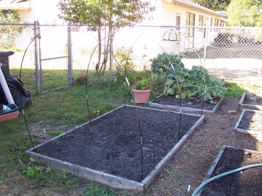 Our garden is just about ready