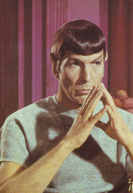 Spock steepling