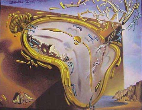 Time exploded (Salvadori Dali)