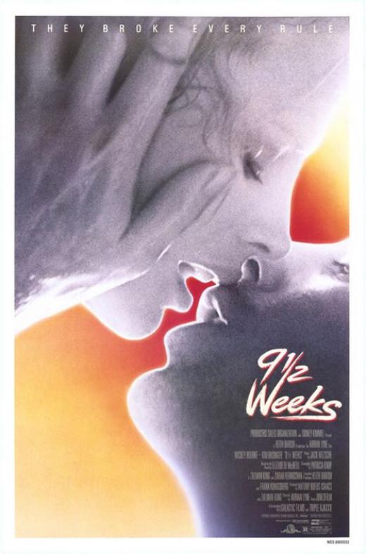 9 1/2 Weeks Poster