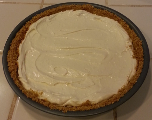 Graham cracker pie crust (used for cream cheese pie)