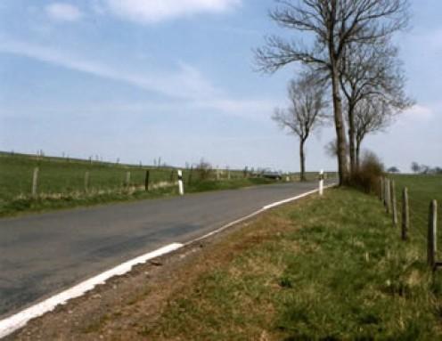 The location of the ambush in the 1990s.