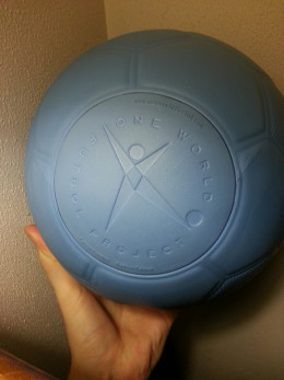 Circular valve that allows the ball to maintain structure.