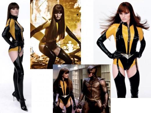 Malin Akerman as Silk Spectre II
