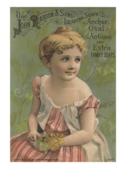ANTIQUE SOAP CARDS