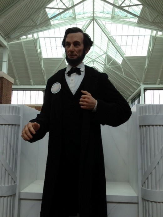 President Lincoln encountered his fair share of office seekers after he was elected to the U.S. Presidency.