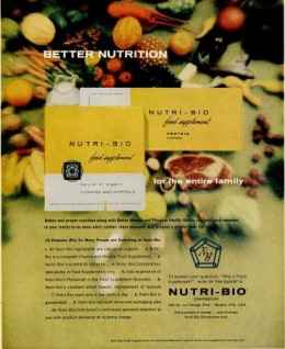 Nutri-Bio Advertisement