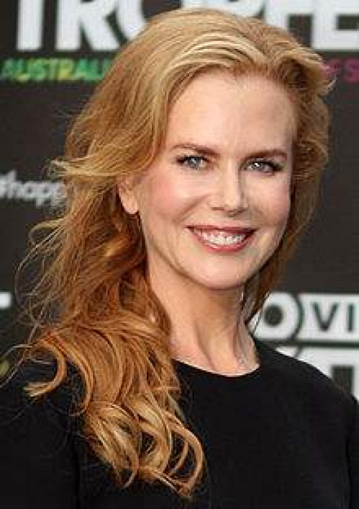 She loves Nicole Kidman!