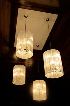 This light fixture exudes elegance with being opulent.