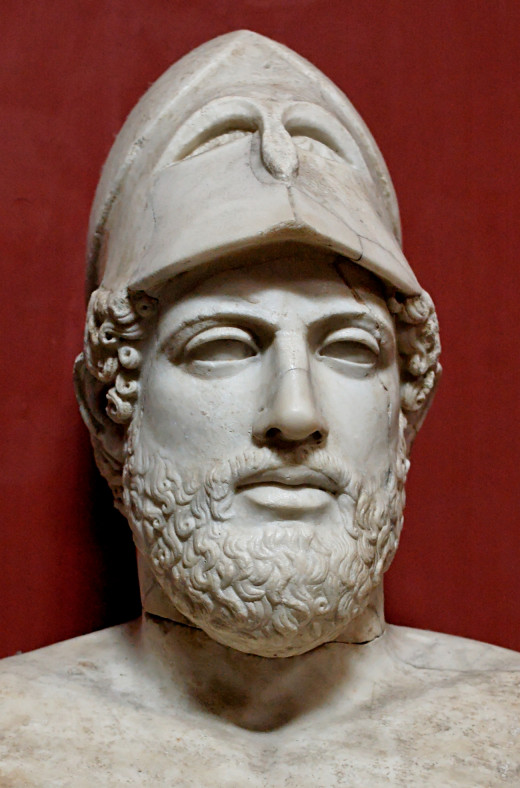 Pericles, ancient Athenian democratic reformer