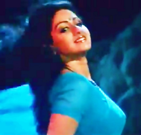 A number that is an ode to the heat that Sridevi could put on screen merely by her presence