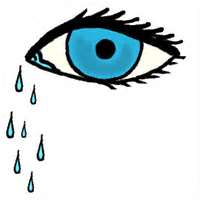 Crying helps us cope with distressing situations.