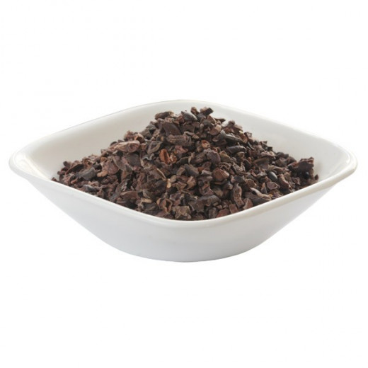 Another bowl full of cacao nibs.