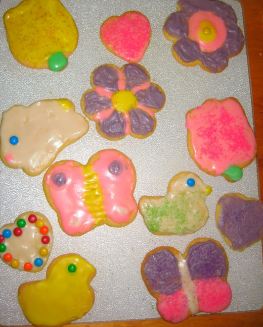 Sugar Cookies are a fun way to express your creative side!