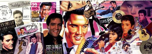 Elvis Bookmark - Front View