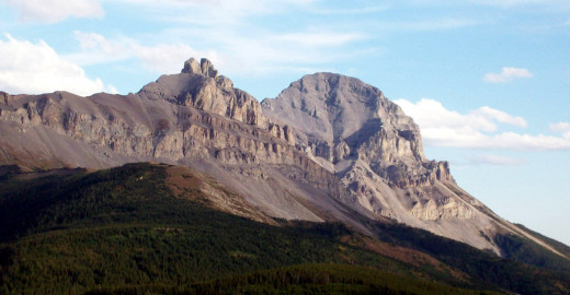 Back Side of Crowsnest Mouintain