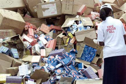 NAFDAC destroys unregistered products