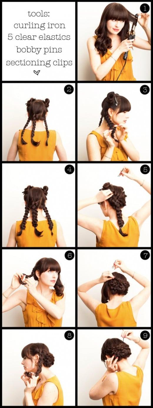 Braids Hairstyles Step by Step