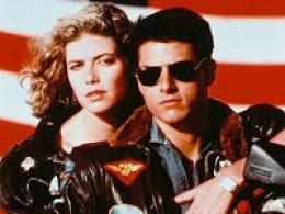 Top Gun - Tom Cruise Courtesy Paramount Pictures