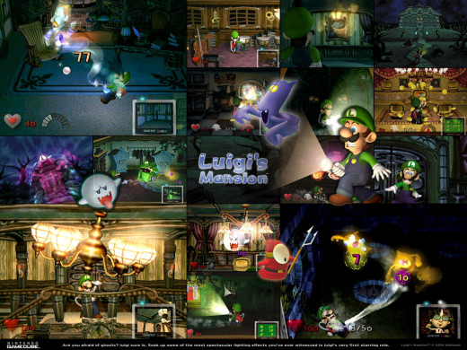 Luigi's mansion is another one of those games where just every second is memorable. But the moments that come to mind when  I see this game are the incredible boss battles that had an undescribable atmosphere