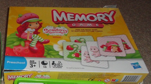 Memory is a great learning game for four-year-olds