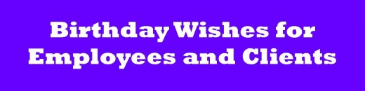 Business Birthday Card Messages  Wishes for Clients and Employees lzmBkCos
