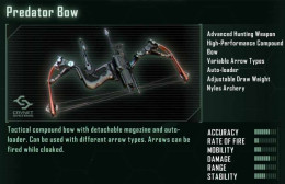 Prophet will get the Predator Bow very shortly after the start of Chapter 1